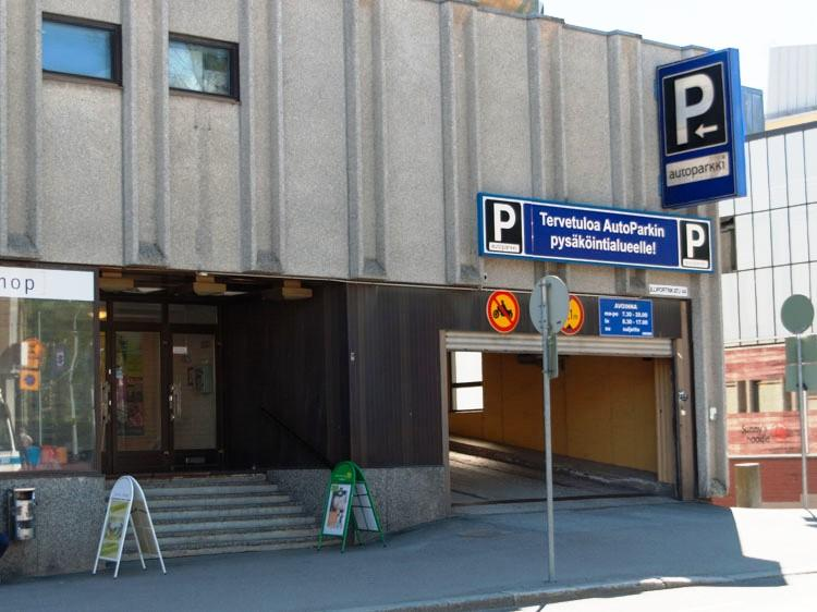 P-Torikulma Kuopio | Maksuton 15min