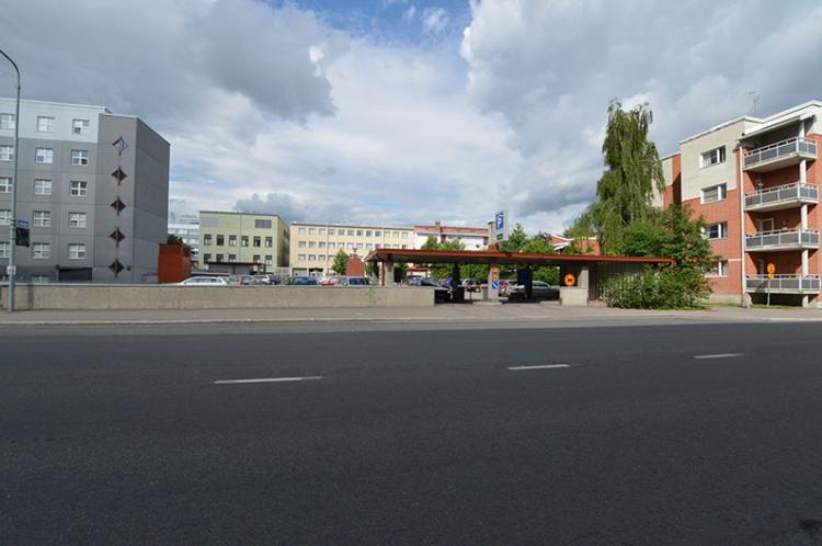 P- Maaherrankadun Pysäköintitalo