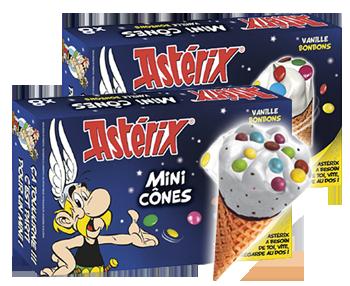 Asterix -minituutti, 16 kpl