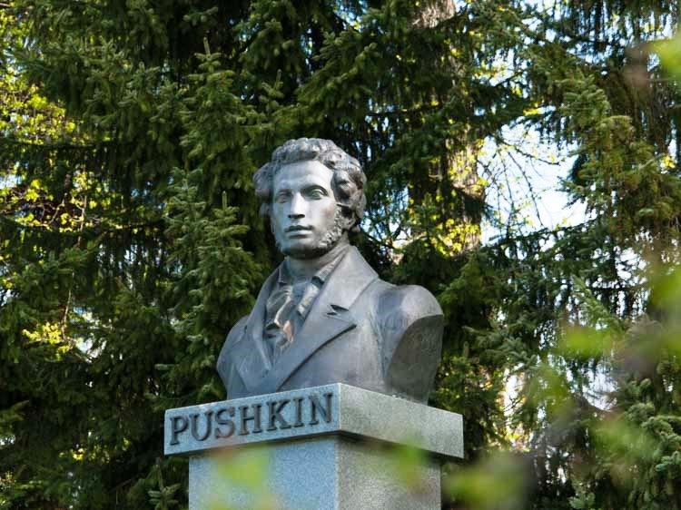 Aleksandr Puškinin Rintakuva