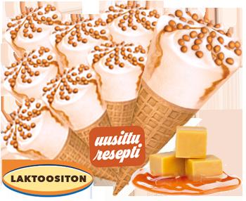Melodia Kinuski-toffeetuutti - LAKTOOSITON