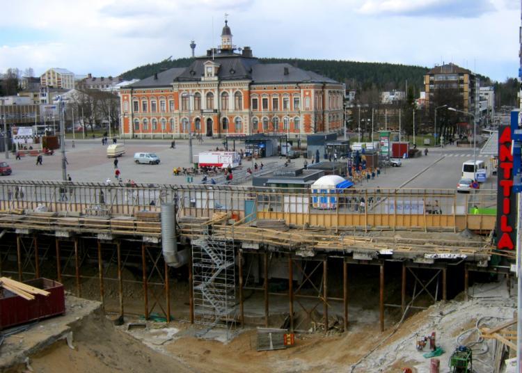 Kuopion tori | Toriremontti 2010-2014