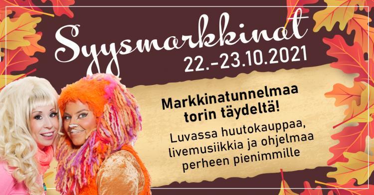 10  Syysmarkkinat 22.-23.10.2021