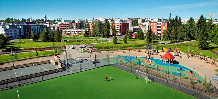 Hapelähteenpuisto | Leikkipuisto