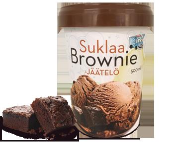 Suklaa Brownie-jäätelö 0,5 L