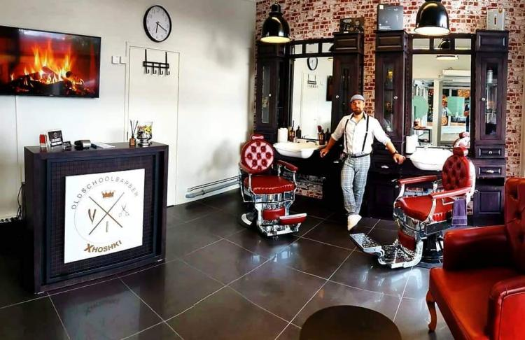 Old School Barber Xhoshki