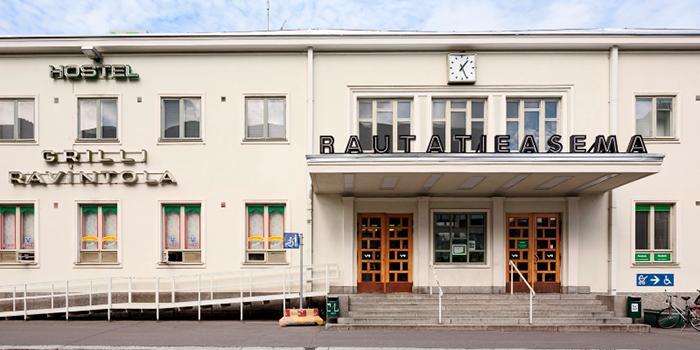 VR Rautatieasema / Railway station