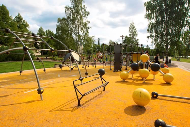 Brahenpuisto | Pikku Kakkosen Puisto leikkipuisto