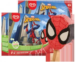 Spiderman -puikko, 12 kpl