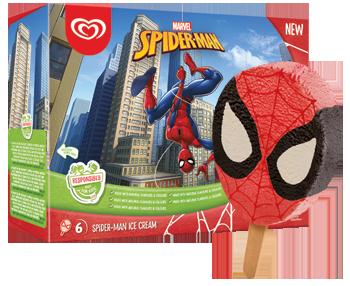 Spiderman -puikko, 6kpl